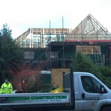 Construction of new 1st floor and Roof to Bungalow conversion