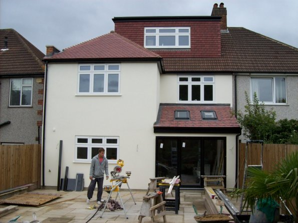 100_2327 rear 2 storey extension
