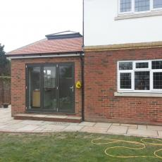 Side kitchen extension Danson Park