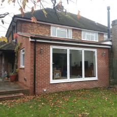 Single storey rear extension in Otford
