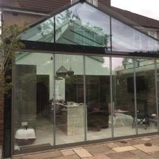 Bespoke glass extension