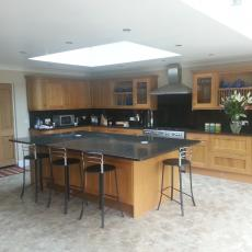 bromley builder sequoia construction another completed kitchen fit
