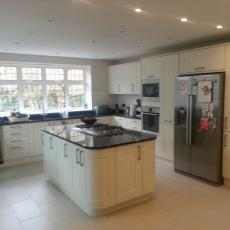 Kitchen fit to extension in orpington