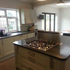 Danson Park  kitchen fit